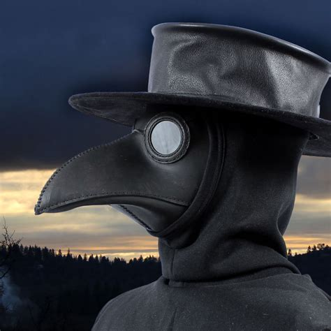 How To Make A Plague Doctor Mask With Paper Mache - traditional plague doctor mask for sale shop