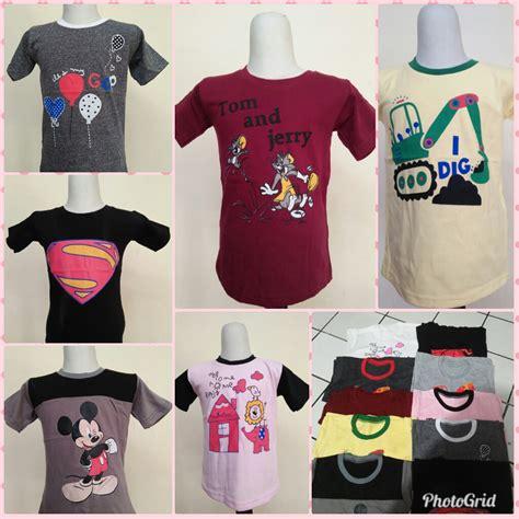 Grosir Kaos Anak Karakter Sz 1 6 Th grosir kaos karakter anak murah 13ribuan