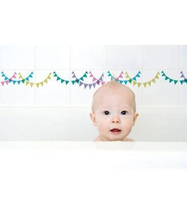 stickers pour carrelage de salle de bain enfants