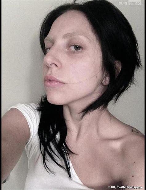 lady gaga sans maquillage une nouvelle photo qui fait peur