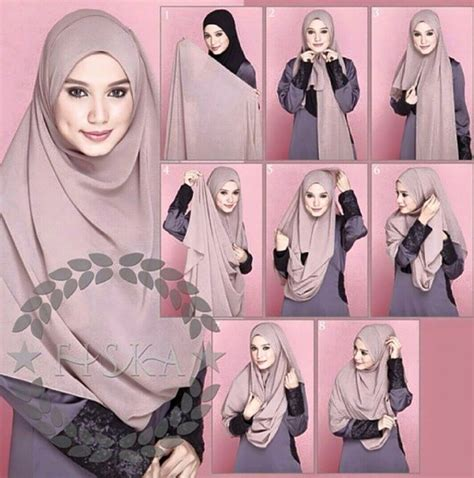 Jilbab Bolbal Size L 19 jilbab tutorial for beginners style tutorial