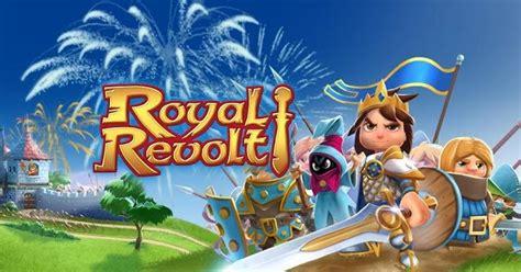 revolt full version apk royal revolt mod apk data unlimited coins gems 1 6 0 free