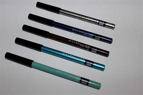 Maybelline Crayon maybelline color show crayon kohl liners