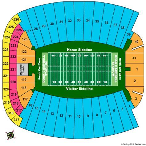 doak campbell stadium seating chart