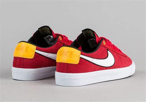 Sepatu Nike Sb Blazer Brown White Pria Santai Casual Hangout nike sb blazer low gt