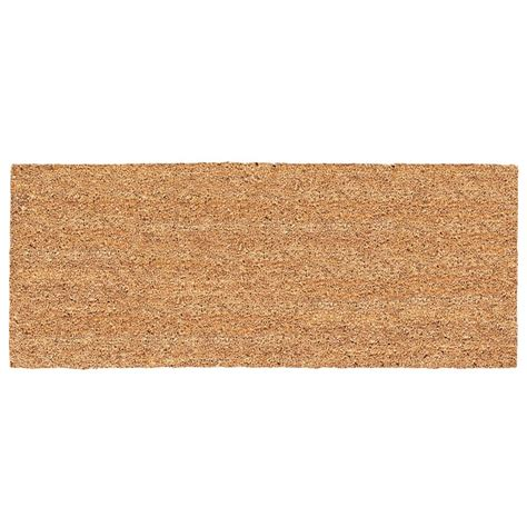 door mat rugs us cocoa mat decoir solid door doormat reviews wayfair