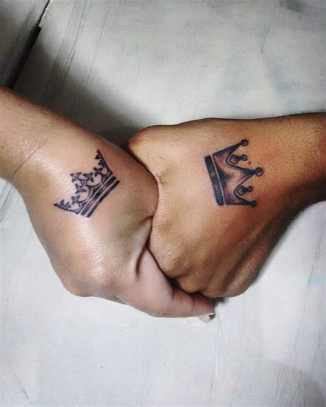 matching tattoos king and queen 25 amazing images of king and tattoos sheideas