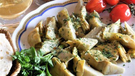 carciofi cucinare carciofi aglio olio e peperoncino