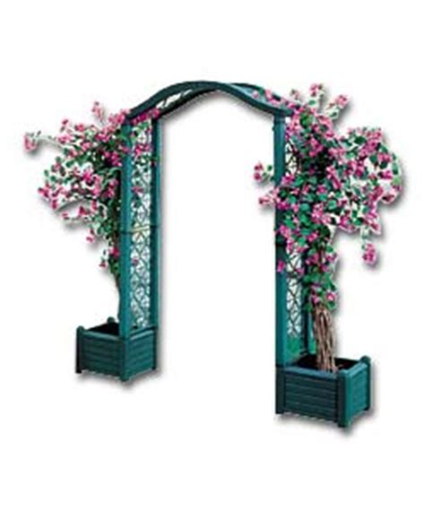 Buy A Planter keter blossom archway with planters garden accessorie