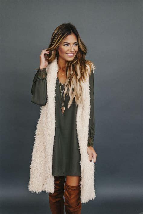 with fur vest sweater vest fashion skirts