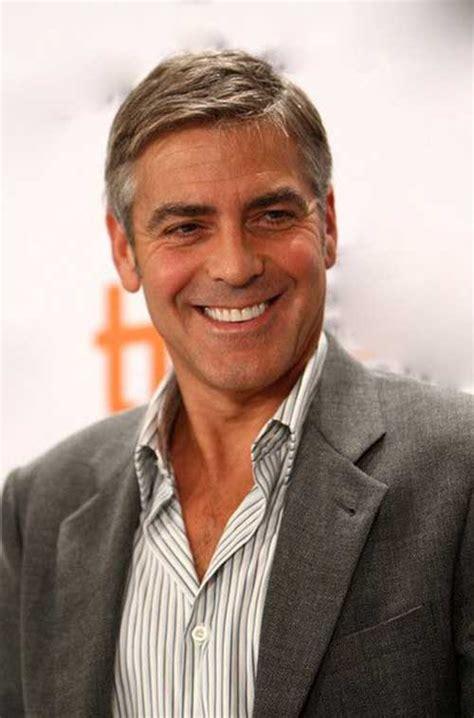 George Clooney Hairstyle by 25 George Clooney Hairstyles Mens Hairstyles 2018