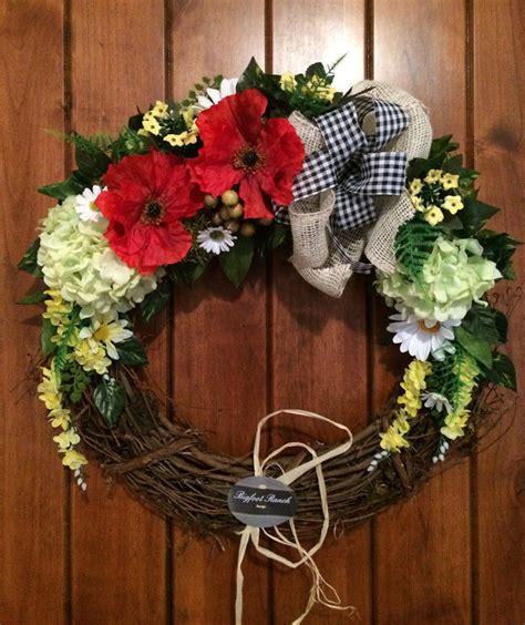 front door wreath outdoor wreath indoor wreath all season