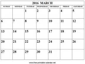free march calendar template printable calendar templates 2016 calendar template 2016