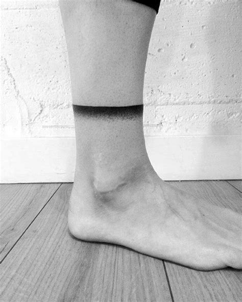 ankle band tattoos for men best 25 black band ideas only on band