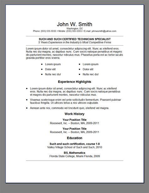 classy idea professional looking resume 11 the best cv resume