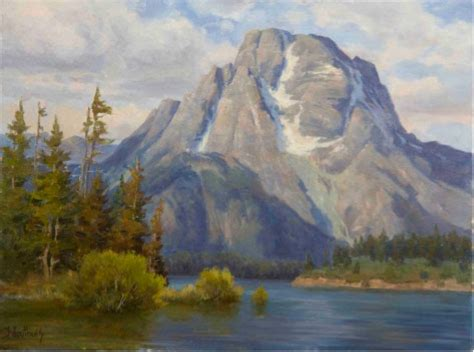 landscape painting tips determining bodies of water for landscape painting