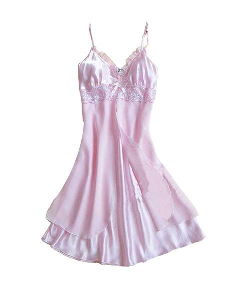 lace sleep dress charming nightwear