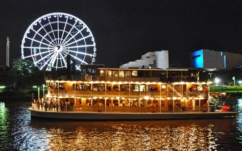 dinner cruises brisbane kookaburra showboat cruises