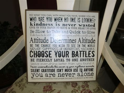 items similar to inspirational quotes wall plaque on etsy