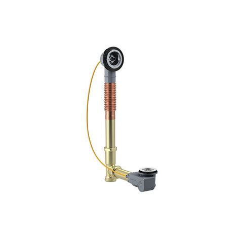 overflow trim ring oil rubbed bronze kohler clearflo 1 5 in slotted overflow brass bath drain