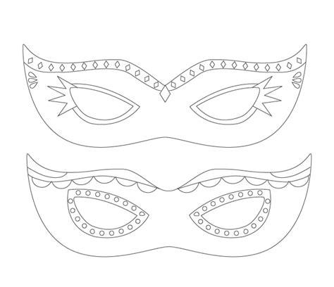 color   mardi gras masks  printable