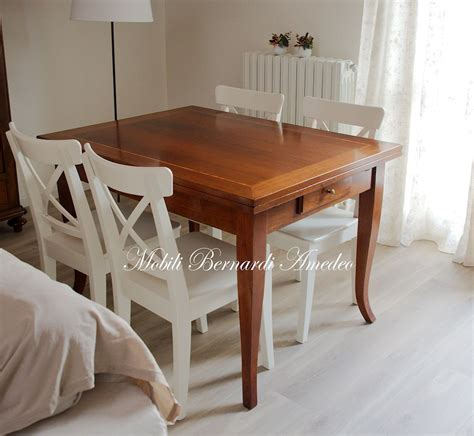 sedie tavolo tavoli allungabili piccoli in stile tavoli