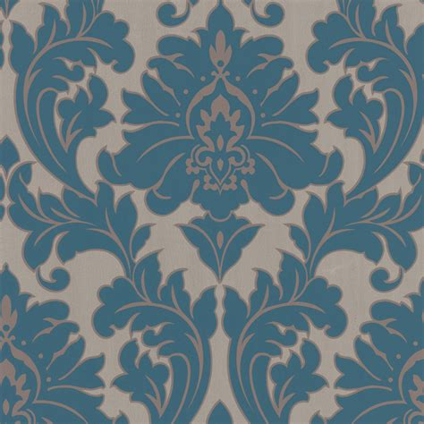 superfresco easy majestic teal 52cm x 10m wallpaper bunnings warehouse