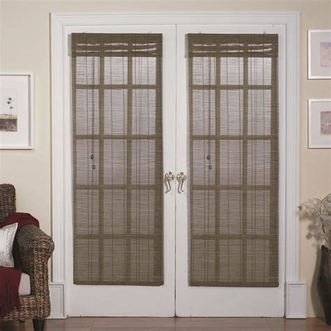 blinds and curtains for patio doors bamboo curtains patio doors curtain menzilperde net
