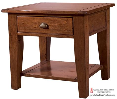 Irish Coast Regular End Table African Dusk   Living Room   Occasional and Coffee Tables   LH