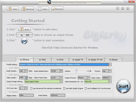 video format converter iphone 4 convert video to iphone format