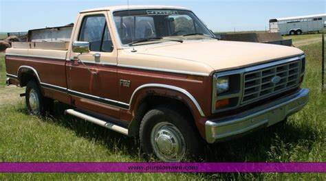 how cars work for dummies 1984 ford e250 user handbook 1984 ford f250 information and photos momentcar