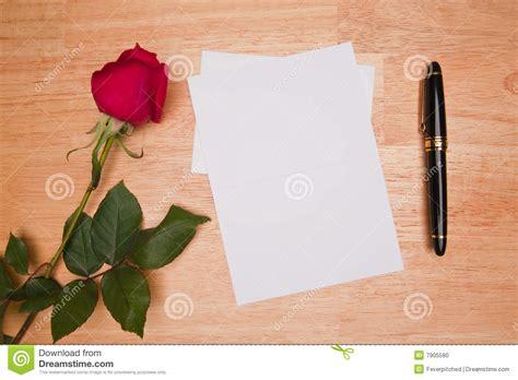Pen Paper Kiky Envelope blank card and pen stock photo image 7905580