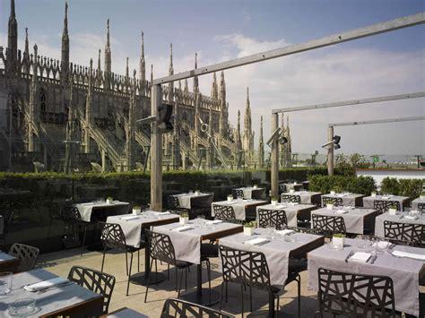ristorante terrazza rinascente shopping piazza duomo la rinascente