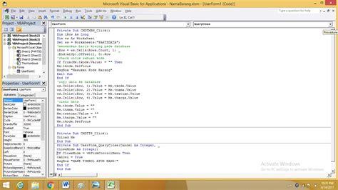 membuat form sederhana dengan html membuat form isian data sederhana dengan macros di excel