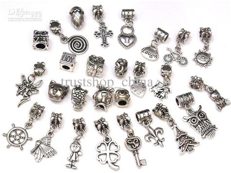 Spacer Dangle Bead Charms Pendants for DIY Bracelet Online with $24.05/Piece on Trustshop china