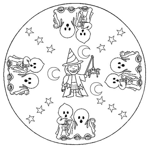 mandala coloring pages halloween halloween mandalas 2 171 funnycrafts