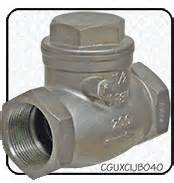 swing check valve orientation check valves