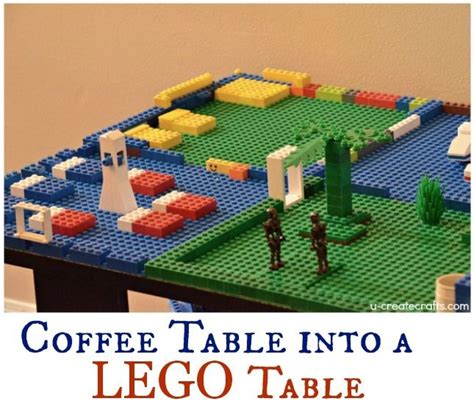 how to make a coffee table into an ottoman turn a coffee table into a lego table or even one of