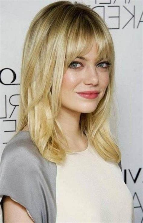 long hairstyles  face  bangs