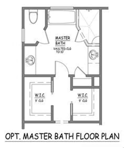 10x10 master bathroom floor plans cdxndcom home design in i like this master bath layout no wasted space very