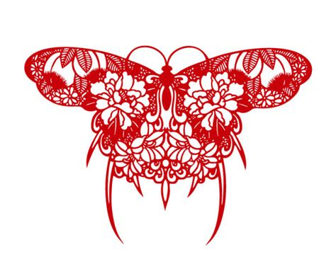 How To Make Paper Design Cuttings - paper cut butterfly design vector millions vectors