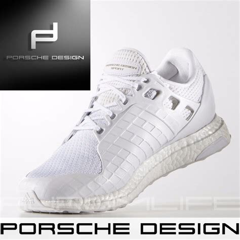 adidas porsche design ultra boost bounce mens white shoes