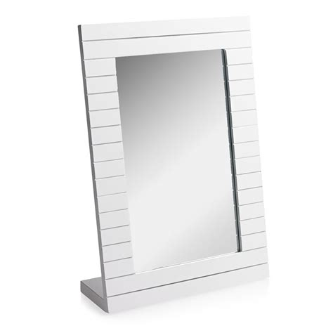 freestanding bathroom mirror wilko freestanding mirror wooden at wilko com