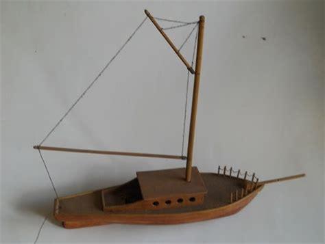 membuat kerajinan perahu bernilai seni tinggi ini dia cara membuat kerajinan