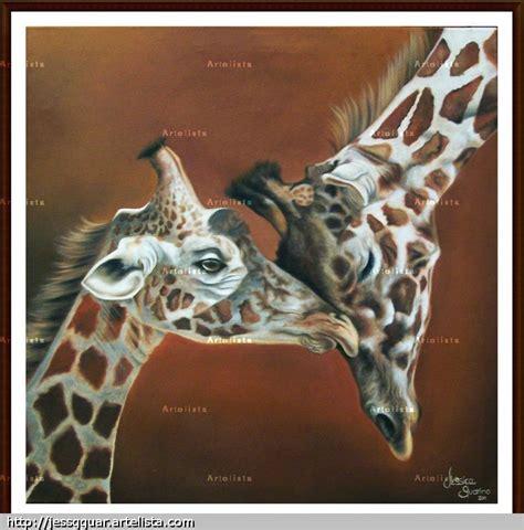 imagenes de jirafas al oleo jirafas jessica guarino artelista com