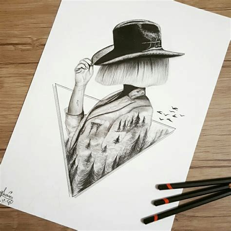 7 Drawing Ideas by I Personify Imagination In My Pencil Drawings 99inspiration
