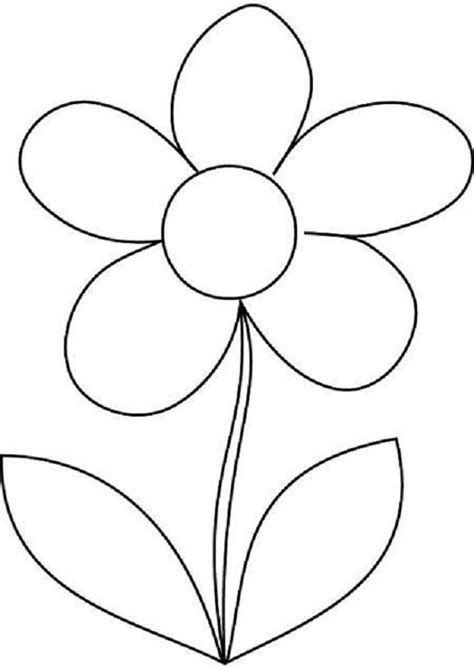 coloring pictures of flowers for preschoolers flower colouring pages for children coloring kids