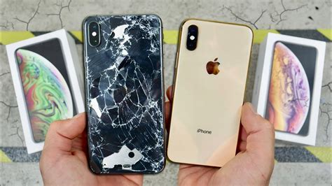 iphone xs  xs max drop test worlds strongest glass