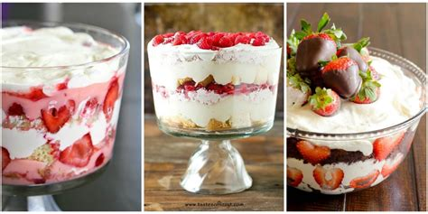day dessert recipes 13 s day trifle recipes easy trifle desserts