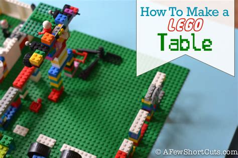 how to make a lego bench how to make a lego table living well spending less 174